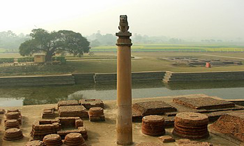 The Ashoka Pillar